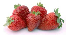 Five Strawberries