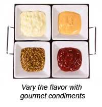 Four Condiments