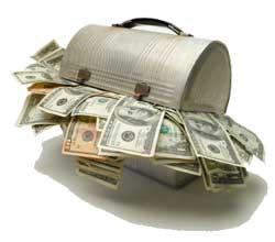 Lunch Box Full of Money
