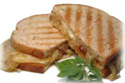 Gruyere and Onion Sandwich