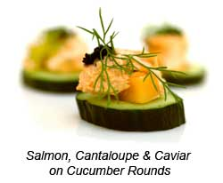Canape cucumber for Canape examples