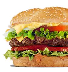 Burger Portrait