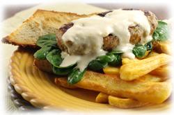 Seared  Tuna Burger