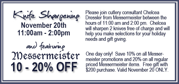 Knife Sharpening and Sale