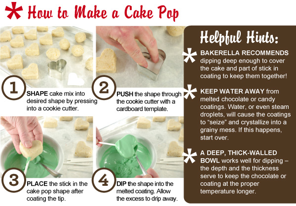 Decorating Cake Pop Tips :