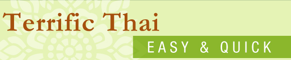 Terrific Thai Food