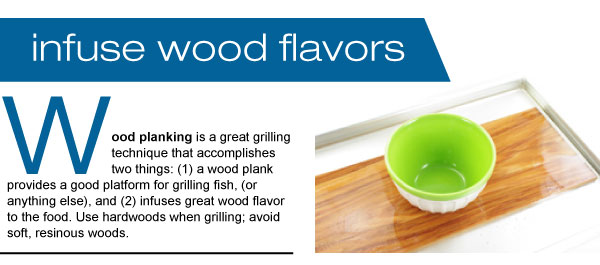 Infuse Wood Flavors