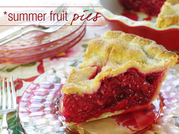 Fruit Pies - A Sweet Slice of Summer!