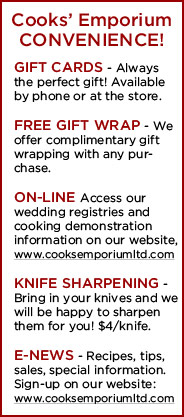 Cooks' Emporium Convenience