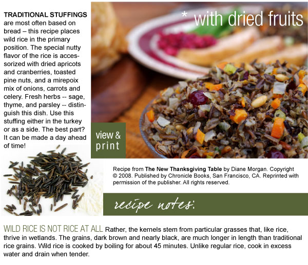 Recipe: Minnesota Wild Rice Dressing