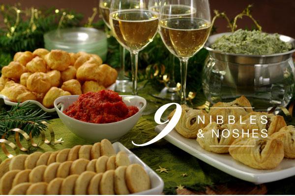 Nine Nibbles & Noshes