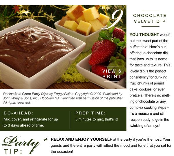 Chocolate Velvet Dip