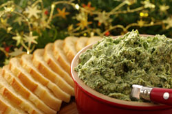 Fresh Spinach Dip with Feta and Dill