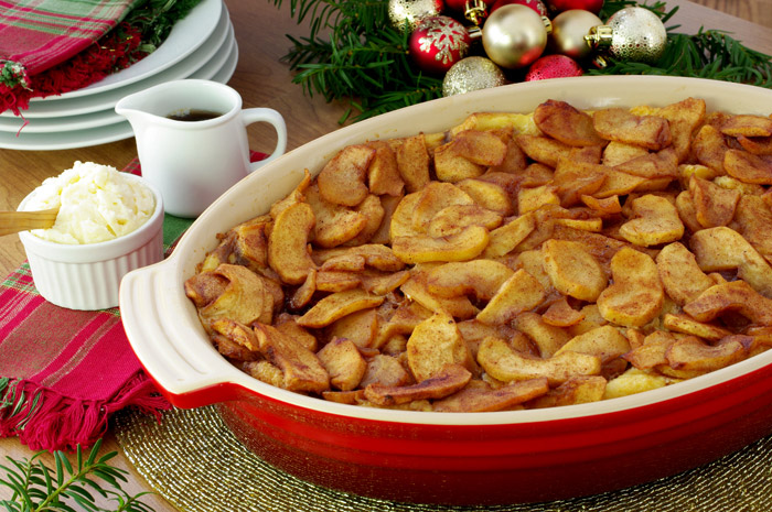 Baked Cinnamon-Apple French Toast