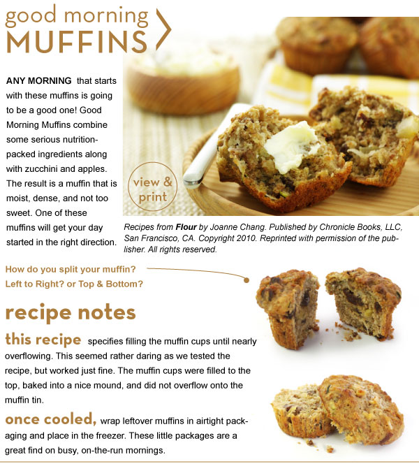 RECIPE: Good Morning Muffins