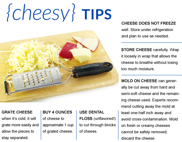 Cheesy Tips