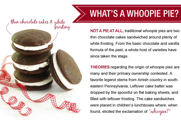 What's A Whoopie Pie?