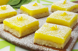 Shortbread and Lemon Curd Bars
