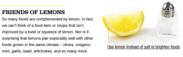 Friends with Lemons