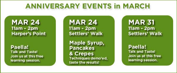 Anniversary Events