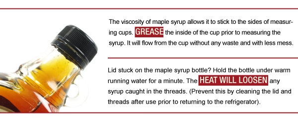Cooking with Maple Syrup