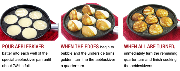 Techniques for Aebleskivers