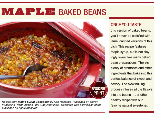 RECIPE: Maple Baked Beans