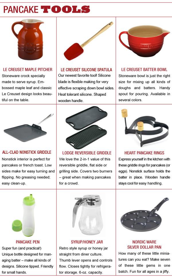 Pancake Tools