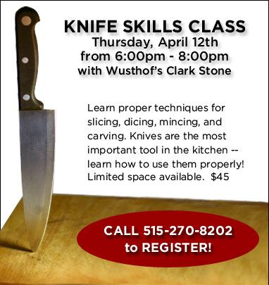 Knife Skills Class