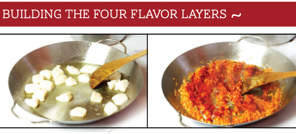 Building the Flavor Layers