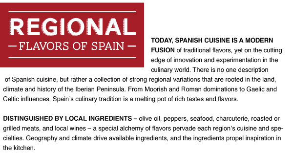 Regional Flavors of Spain