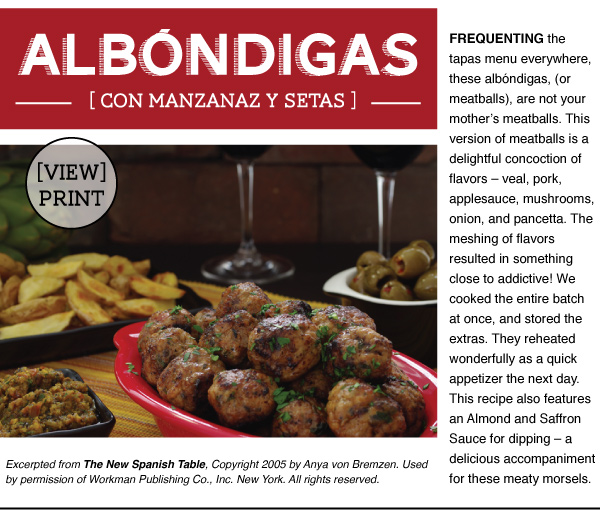 RECIPE: Albondigas