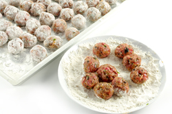 Meatballs Rolled Up