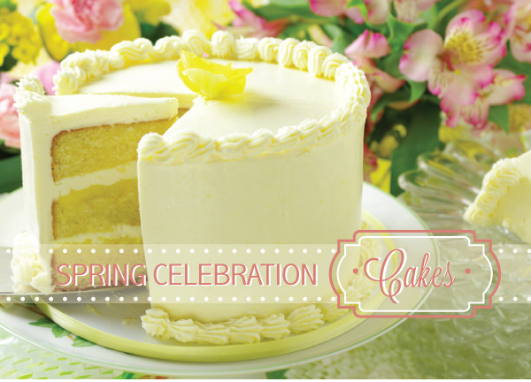 Spring Celebration Cakes