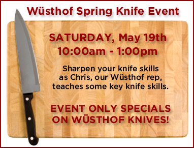 Knife Event - May 19