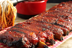 BLUE RIBBON BARBECUE RIBS