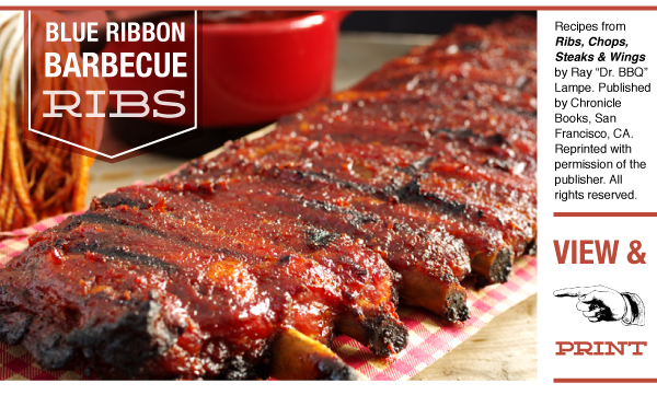 RECIPE: Blue Ribbon Barbecue Ribs
