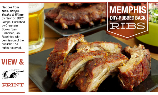 Memphis Dry-Rubbed Back Ribs