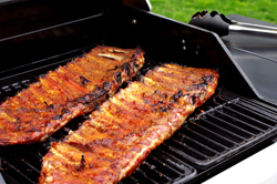 Ribs Flipped on Grill