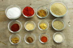 Rib Rub Ingredients