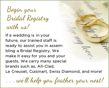 Bridal Registry