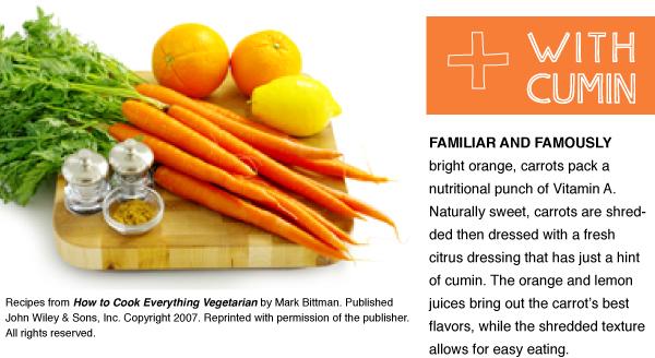 RECIPE: Carrot Salad with Cumin
