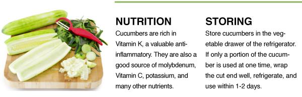 Nutrition + Storing