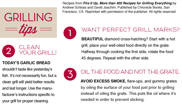 Grilling Tips 1-3