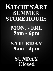 KitchenArt Summer Store Hours