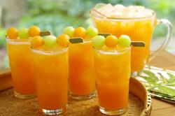 Cantaloupe Clementine Soda