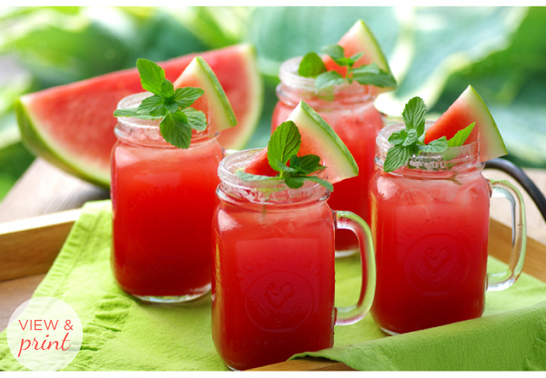 RECIPE: Sparkling Watermelon Soda