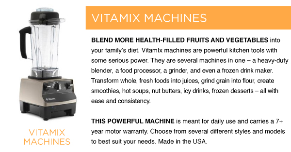 Vitamix Machines