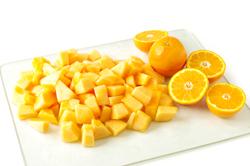 Diced Cantaloupe
