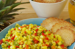 PINEAPPLE, RED PEPPER, and JALAPENO SALSA